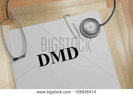 Dmd Medicial Concept