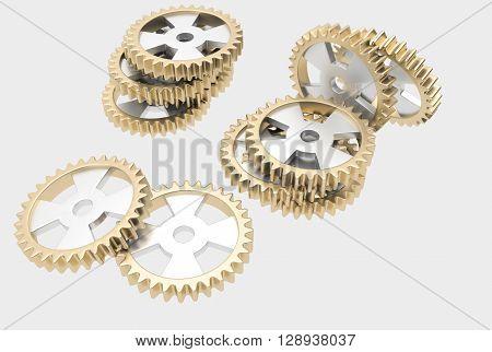 Steel Cog Wheels