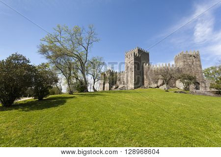 Guimaraes castle and park - Portugal