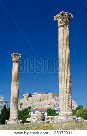 Temple of Zeus, Olympeion, Athens, Greece