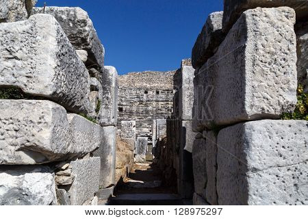 Miletus Ancient City View