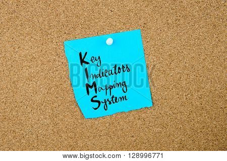 Business Acronym  Kims As Key Indicators Mapping System