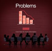Problems Difficulty Failure Mistake Negative Concept poster