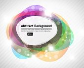 multicolor abstract design poster