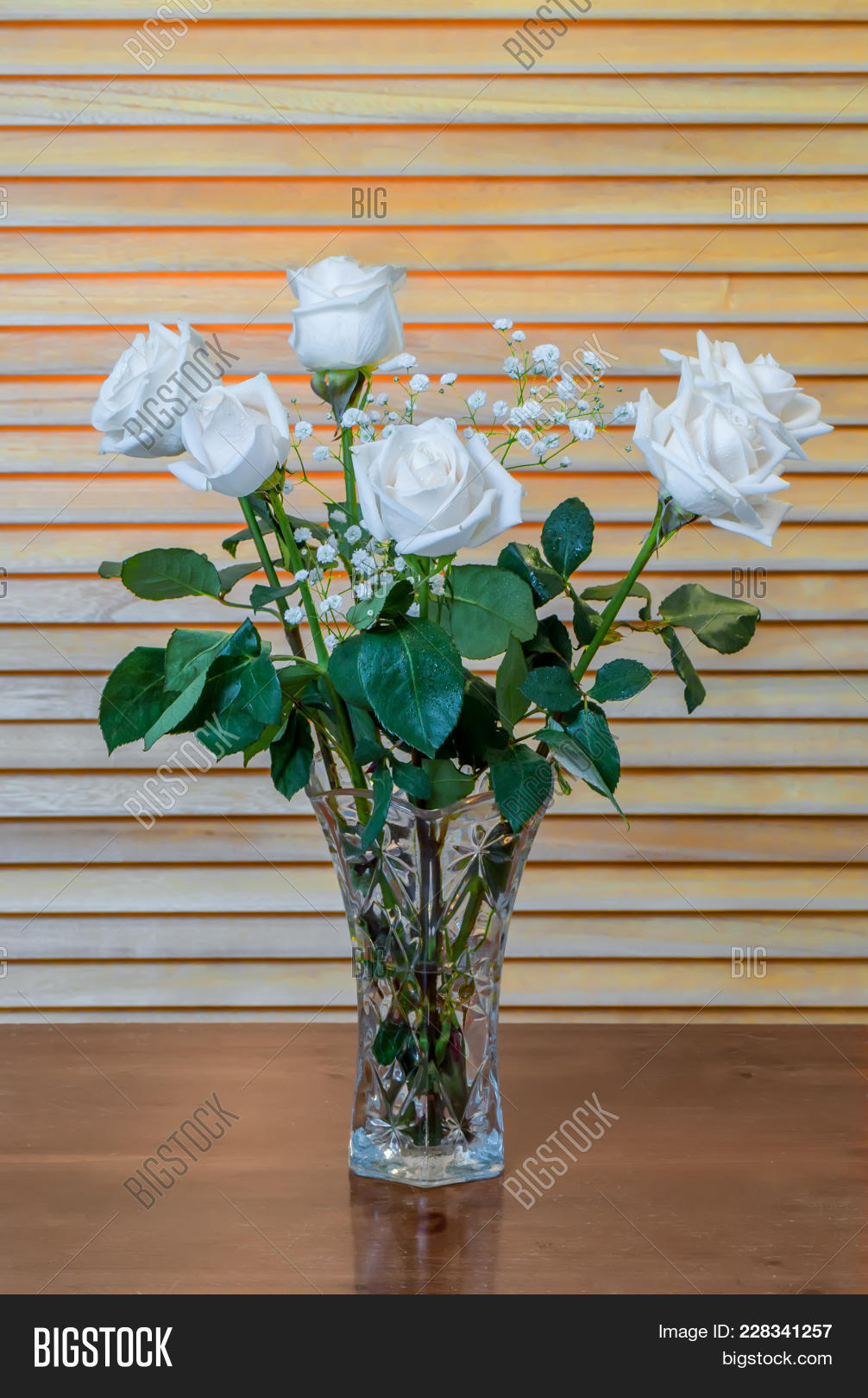 Plant Bouquet White Image Photo Free Trial Bigstock