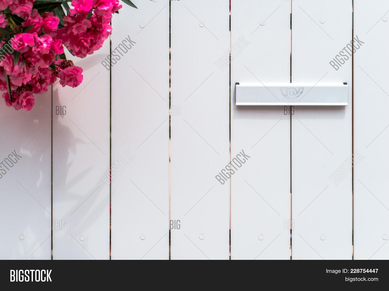 White Wood Fence Image Photo Free Trial Bigstock