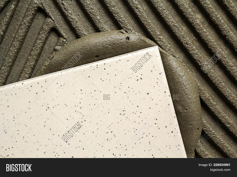 Ceramic tiles tools tiler floor image photo bigstock ceramic tiles and tools for tiler floor tiles installation home improvement renovation dailygadgetfo Image collections