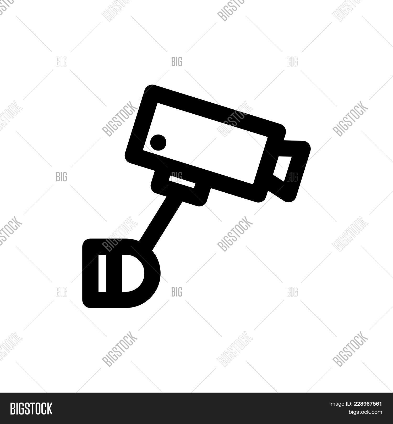 Security Camera Icon Vector Photo Free Trial Bigstock