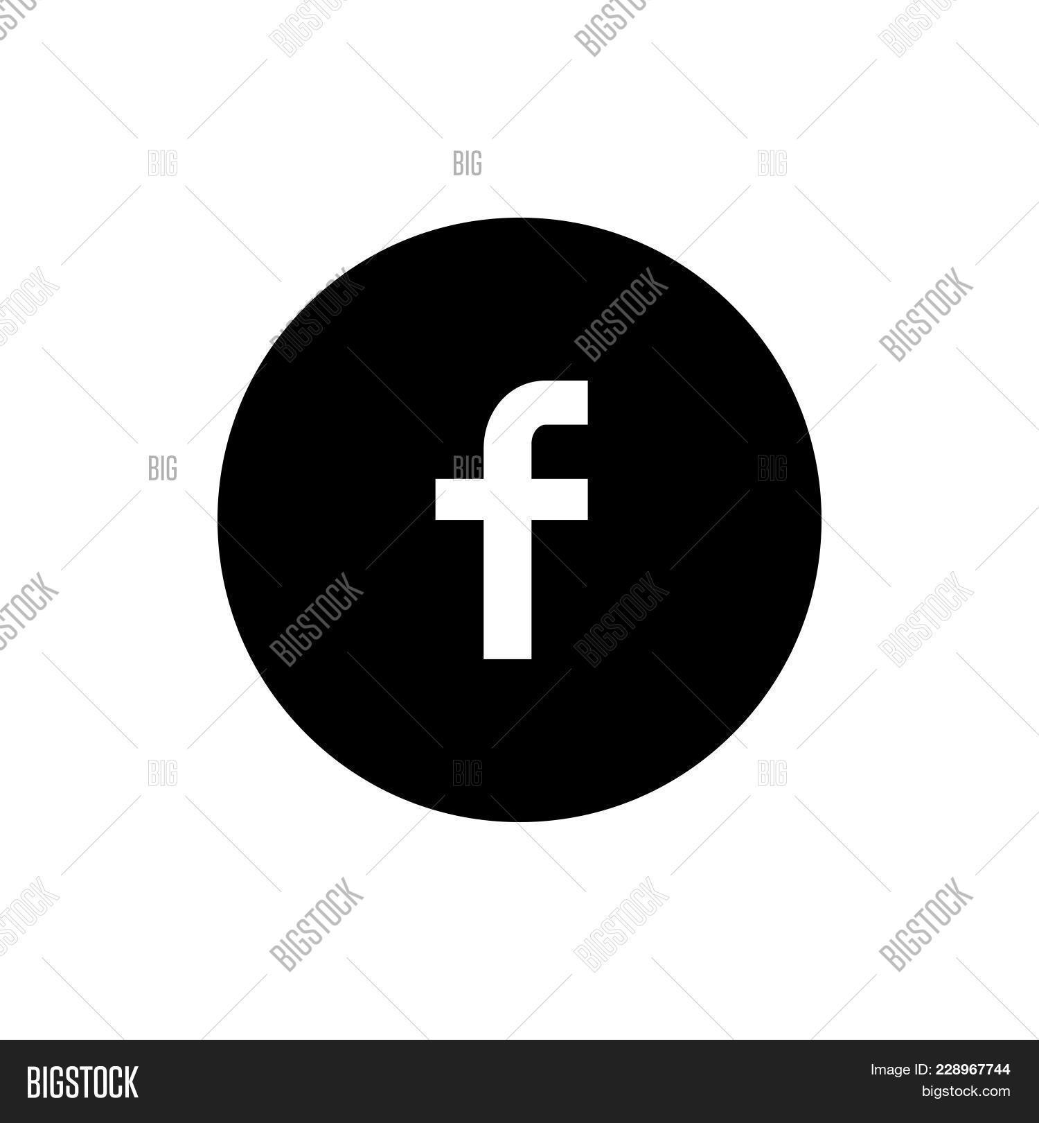 Facebook Icon Vector Photo Free Trial Bigstock