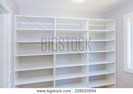 Installing Wooden Shelves Wall Installing A Shelf Installation Of Shelves