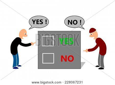 Disagreement in business