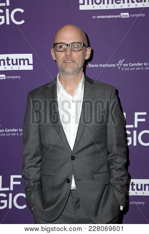 LOS ANGELES - FEB 21:  Moby at the