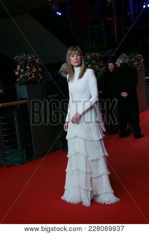 Rosamund Pike attends the '7 Days in Entebbe' premiere during the 68th Film Festival Berlin at Berlinale Palast on February 19, 2018 in Berlin, Germany.