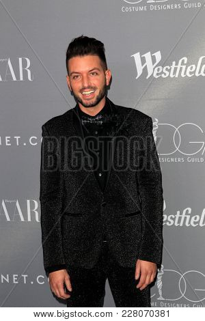 LOS ANGELES - FEB 20:  Daniel Musto at the 20th Costume Designers Guild Awards at the Beverly Hilton Hotel on February 20, 2018 in Beverly Hills, CA