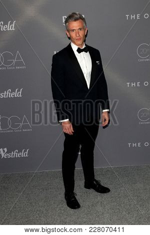 LOS ANGELES - FEB 20:  Nate Clark at the 20th Costume Designers Guild Awards at the Beverly Hilton Hotel on February 20, 2018 in Beverly Hills, CA