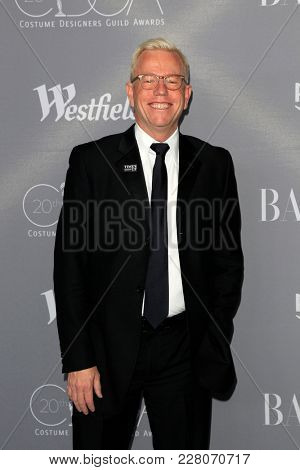 LOS ANGELES - FEB 20:  Christopher Lawrence at the 20th Costume Designers Guild Awards at the Beverly Hilton Hotel on February 20, 2018 in Beverly Hills, CA