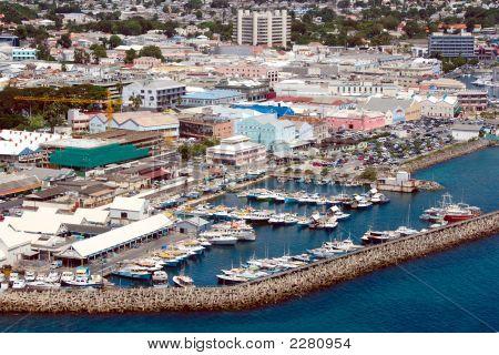 View Of Bridgetown (Barbados)