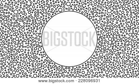 Fashionable Background With Space For Text, For Your Advertising, Design, Business Cards, Screen Sav