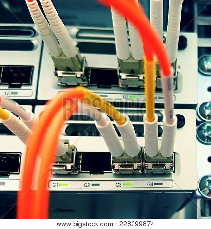 Fiber Optic Network Connectivity