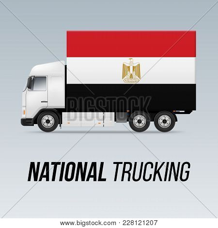 Symbol National Delivery Truck Vector Photo Bigstock