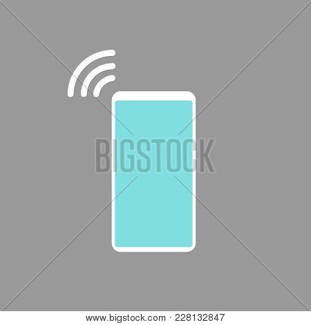 Vector Ringing Phone Icon Eps Flat Illustration Eps10
