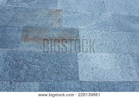 Stone Pavement /closeup Of A Natural Stone Pavement