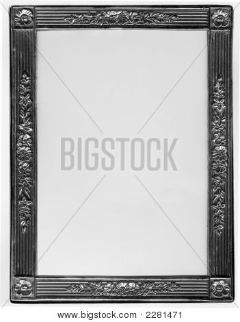 Stříbrný fotorámeček
