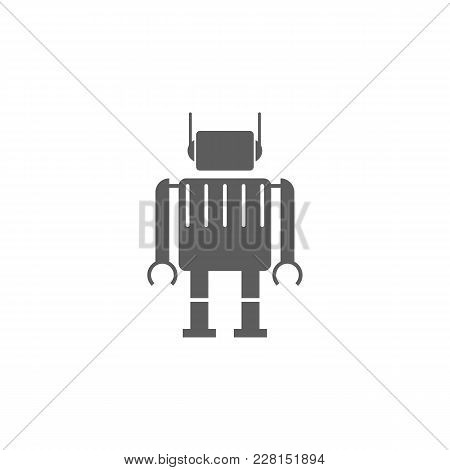 Robot Icon. Element Of Toys For Mobile Concept And Web Apps. Icon For Website Design And Development