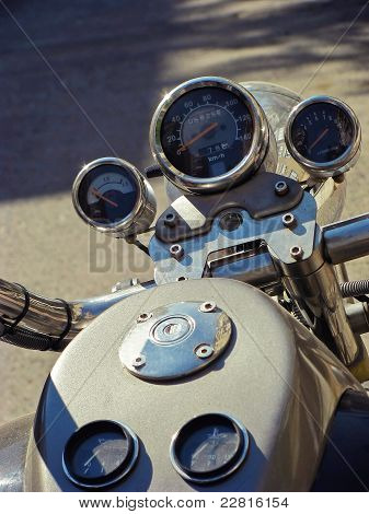 Motorcycle dashboard