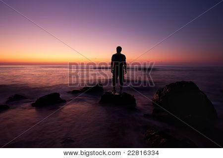 Man In Sunrise