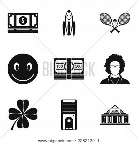 Purchasing Power Icons Set. Simple Set Of 9 Purchasing Power Vector Icons For Web Isolated On White