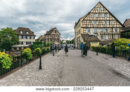 Colmar Village In Alsace