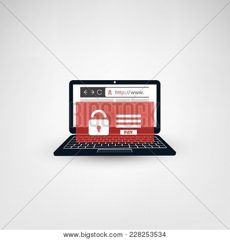 Unsafe Online Browsing - Locked Device, Encrypted Files, Lost Documents, Global Ransomware Attack. V