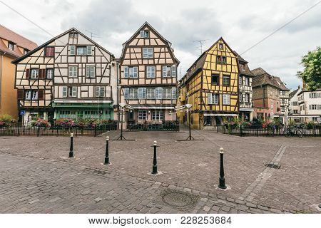 The Ancient Village Of Colmar
