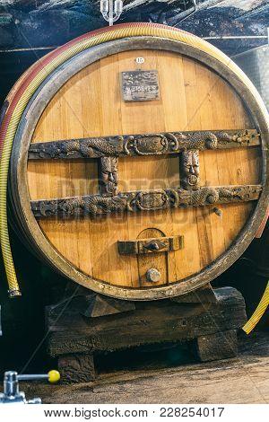 Wine Barrel Butt