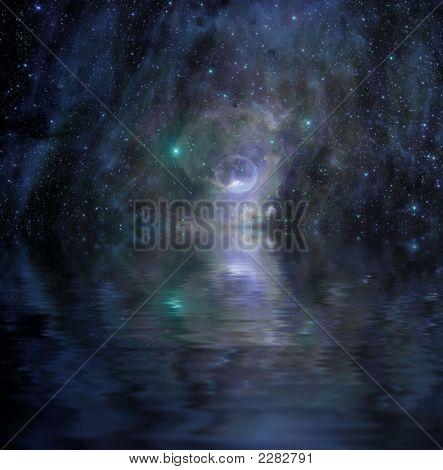 Bubble - Deep Space Nebula
