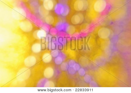 Colorful Pink Purple Yellow White Abstract Background