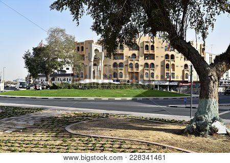 Al Fahidi Historical And Dubai Old Souq Neighbourhood, Dubai, United Arab Emirates
