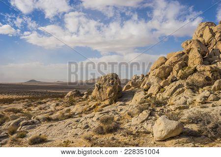 Boulders Form Hillside