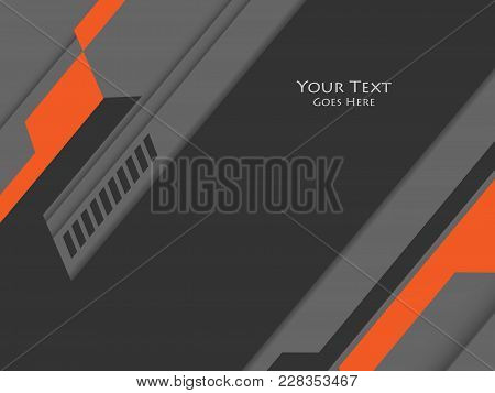 Techno Vector Background. Corporate Backdrop. Vertical Elements For Designs. Templates For Brochures