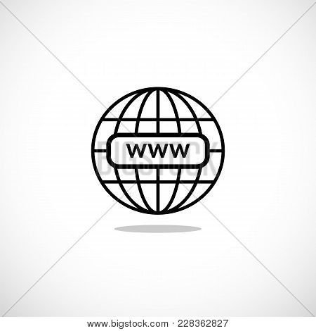 Www Internet Favicon Icon Illustration For Design