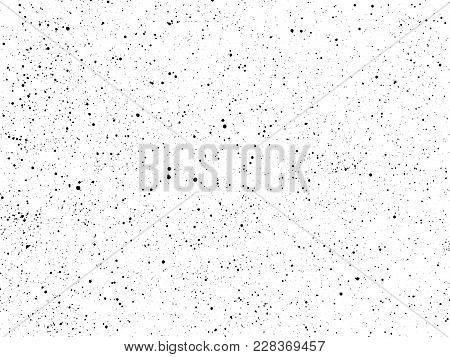 Ink Blots Grunge Urban Background. Texture Vector. Dust Overlay Distress Grain . Black Paint Splatte