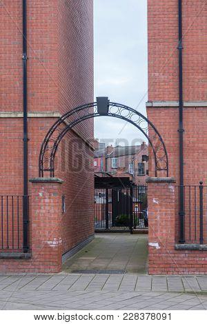 A Brick Facades In The North Of England