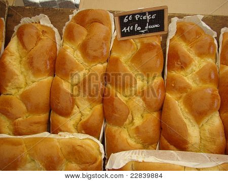 Brioche For Sale Market Stall