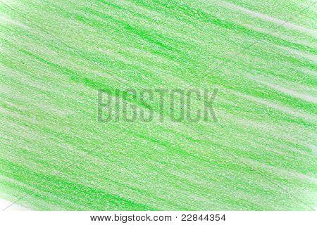 Green Crayon Background