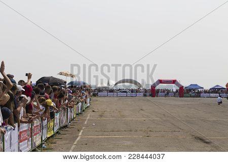 Bmw Festival In Chisinau Republic Of Moldova July 30 2016. Fans Of Bmw.