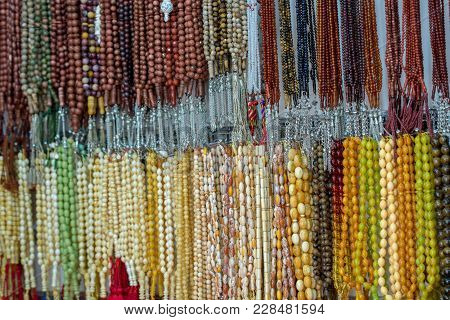 Islamic Rosary With Different Materials, Colors And Shapes
