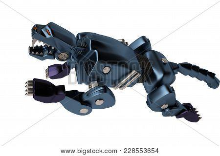 A Blue Machine Puma