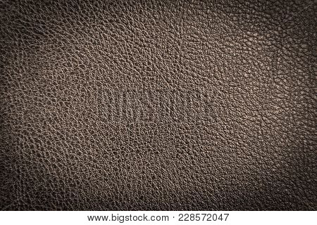 Leather Texture Or Leather Background. Leather For Fashion, Furniture, Making Leather Bag, Leather J