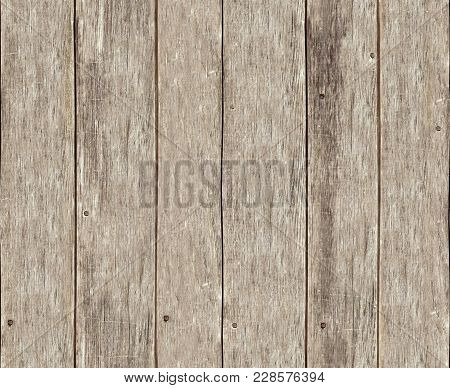Old Wood Tileable Seamless Fence Texture Background